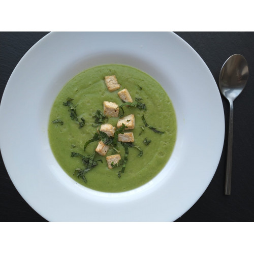 Creamy Peas With Mint Soup 400gr