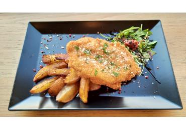 Pollo Parmigiano And Rosemary Potatoes
