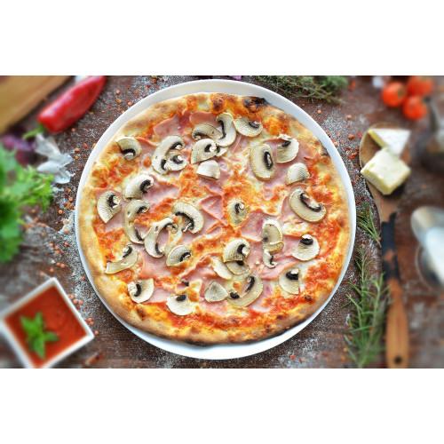 Pizza Prosciutto E Funghi 460gr