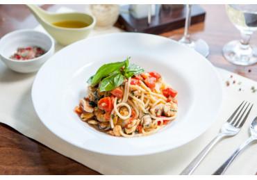 Seafood Spaghetti Alla Chitarra